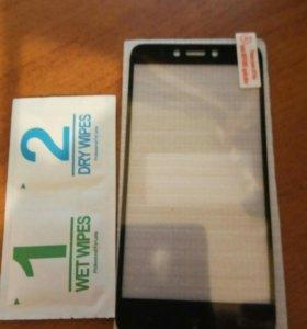 Стекло Xiaomi redmi 4x, черное