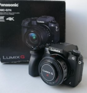 Panasonic Lumix DMC-G7 без объектива и с ним