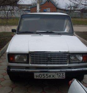 ВАЗ (Lada) 2107, 2012