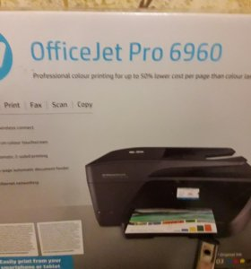 Принтер HP OfficeJet Pro 6960 All-in-One Prin