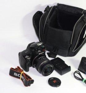 Sony Alpha DSLR-A290.Комплект+Сумка+Объектив и пр.