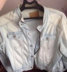 Куртка джинсовая, джинсовка AMISU