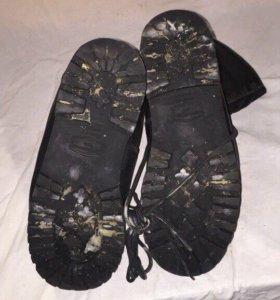 Ботинки тяжелые армейские «Эдельвейс»