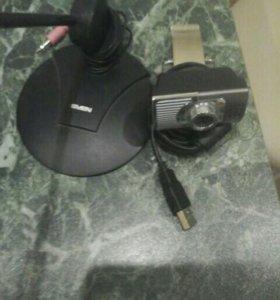 Веб камера и микрофон