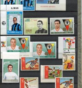 Набор марок спорт