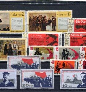Набор марок ГДР