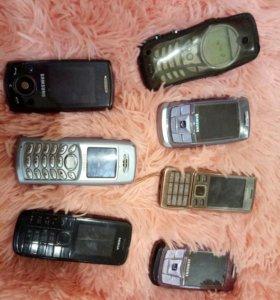 Телефоны б/у на запчасти