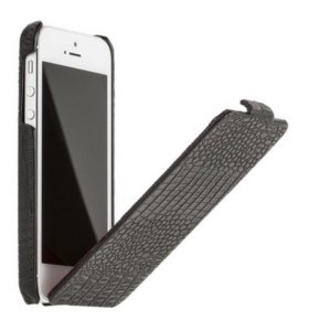 Флип на iPhone 5/5s/SE, натуральная кожа