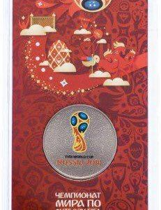 Монета 25 р FIFA 2018