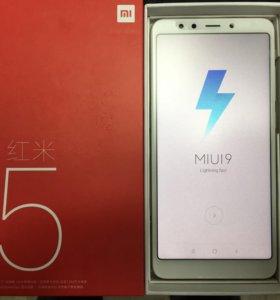 Xiaomi Redmi 5 запечатанные