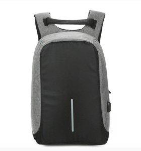 Рюкзак от краж с USB устройством
