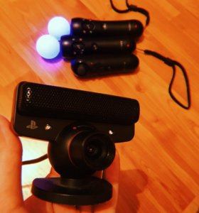 PS EYE и PS move