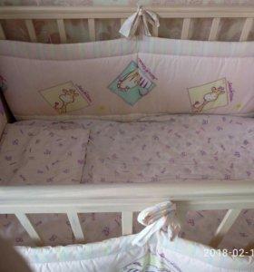 Кровать-трансформер детская.