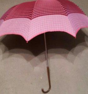 Зонт-трость винтажный женский (2 шт)