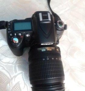 Цифровая, зеркальная фотокамера. D90.NIKON