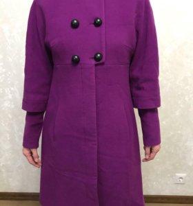 Пальто демисезонное шерсть/кашемир