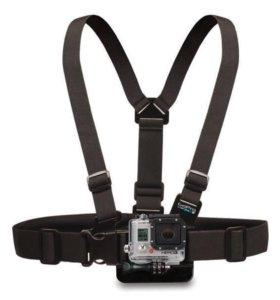 Крепление на грудь для GoPro! Новое!