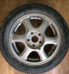 1 колесо на запаску маркообраз