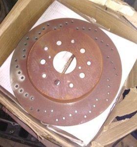 Диск тормозной toyota supra JZA80 мотор 2JZGTE