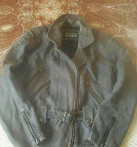 Куртка (мокрая)кожа натуральная