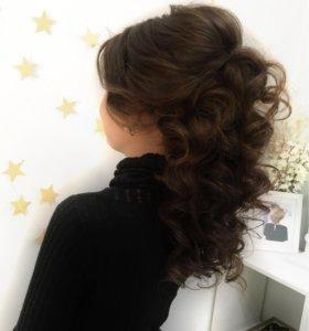 Вечерние, свадебные причёски, укладки, косы