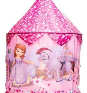 Палатка / домик детский игровой принцесса София