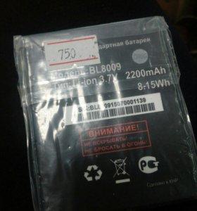 Акб Fly BL8009