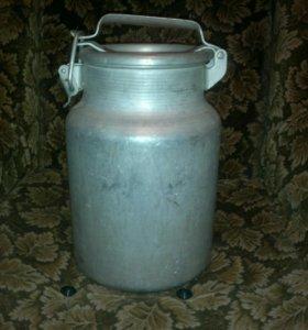 Бидон-фляга алюминиевый (10 литров)