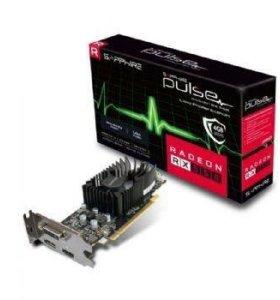 Видеокарта rx 550 4 gb