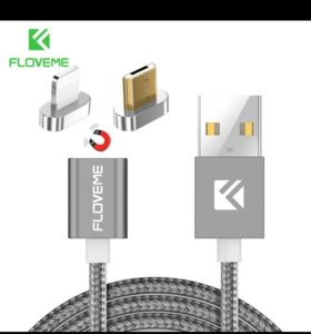 Магнитный usb кабель.