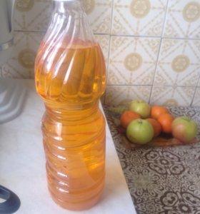 Домашнее подсолнечное масло