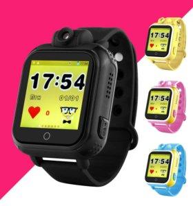 Детские умные часы GPS Q75 с видеокамерой