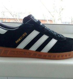 Новые кроссовки adidas Hamburg