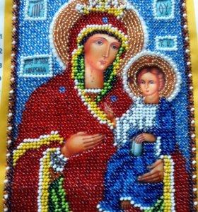 Икона Иверская.Заступница рожденых в марте