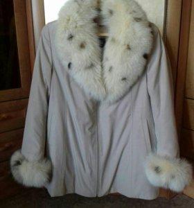 Куртка зима-осень р-р 52-54