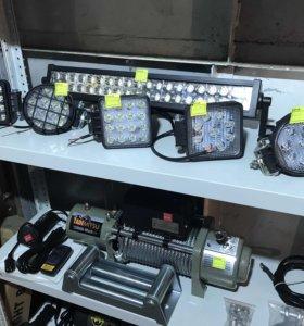 LED оптика для внедорожника