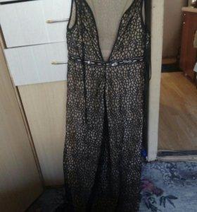 Платье длинное, выпускное