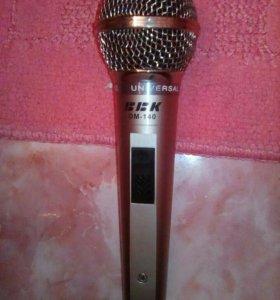 Микрофон BBK dm-140 рабочий!