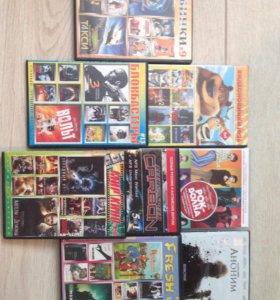 Компакт диски с фильмами