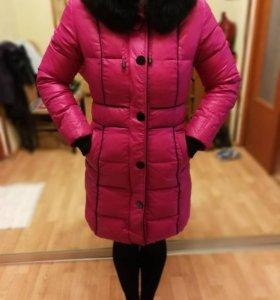 Зимние пальто с натуральной опушкой