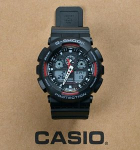Новые Casio G-Shock GA-100