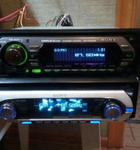Sony CDX-M7850  CDX-GT 500