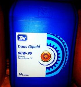 Масло ТНК 80W90 GL-5 20 кг