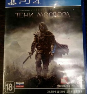 Игра для PS4 Middle-Earth Shadow of Mordor