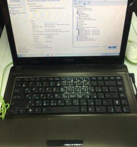 Ноутбук ASUS i3 4x2,53/3/300/512