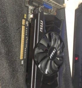 Видеокарта MSI GeForce GTX 750 1gb