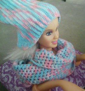 Шапочка +шарфик
