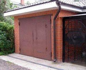 Ворота из качественного материала.