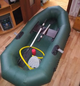 Надувная, одноместная лодка