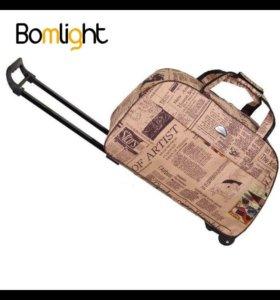 Водонепроницаемый чемодан, дорожная сумка на колёс